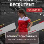 Recrutement féminines régional 2